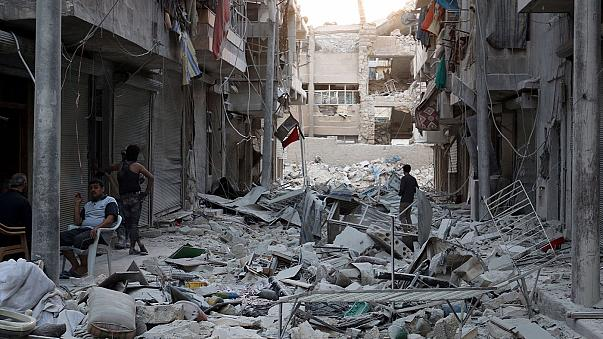 Syria peace talks to resume, as battle for Aleppo rages
