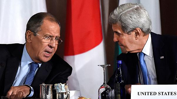 Diplomatic talks between US and Russia resume in Switzerland to discuss Syria peace.