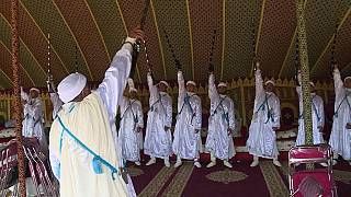 "Morocco: Grand Prix of Mohammed VI of ""tbourida"" [no comment]"