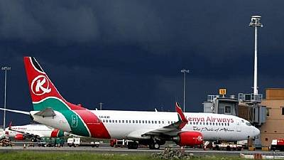 Kenya airways suspends flights to two African capitals as part of restructuring