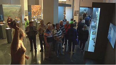 L'exposition l'Âge de Pierre en Géorgie