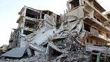 Halep'in doğusunda çocuklara bomba yağıyor