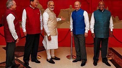 Zuma in India for BRICS summit