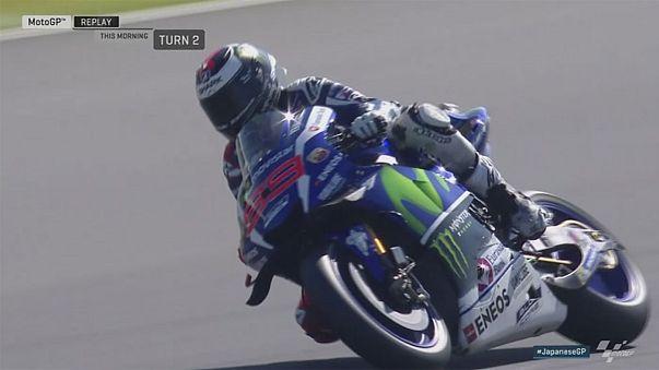 Valentino Rossi consigue la 'pole' en el GP de Japón