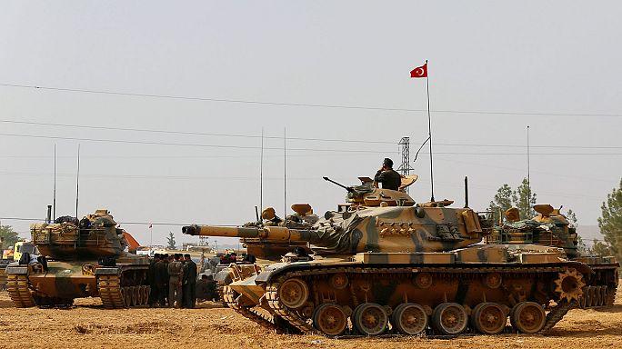 Türkei: Kampf gegen den IS in Syrien und im Irak