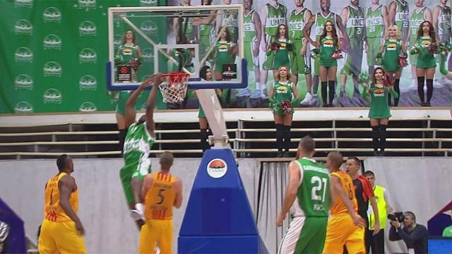 الدوري الأوروبي لكرة السلة: برشلونة لاسا و باناثينايكوس يفوزان بالجولة الاولى