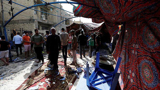 Dozens killed in Baghdad suicide blast