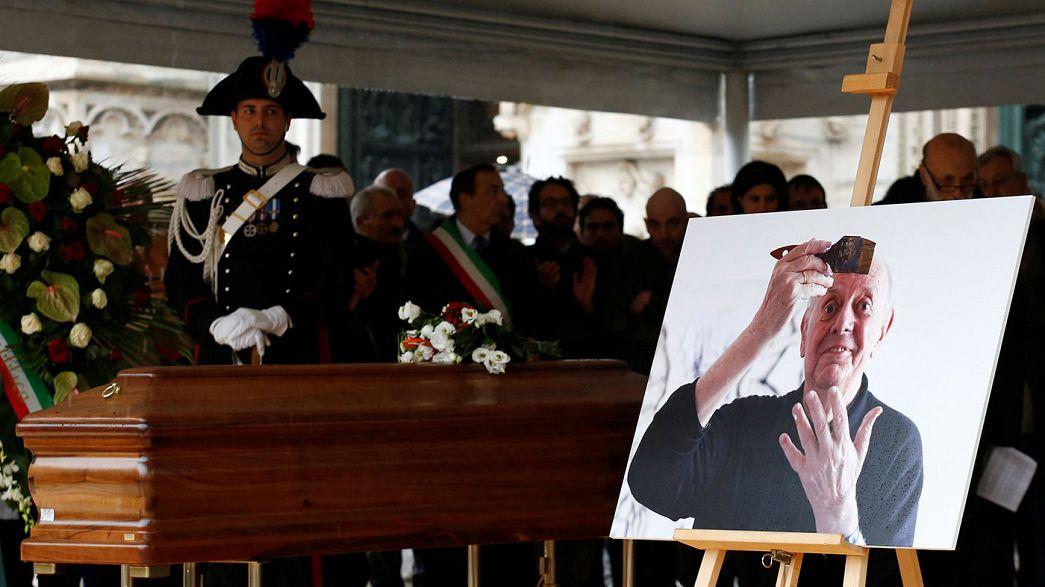 Mailand: Letztes Geleit für Dario Fo