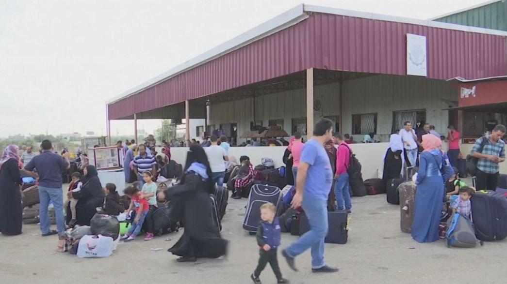 Permiten la entrada a Egipto a los palestinos de Gaza