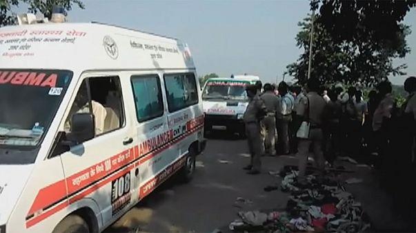 مقتل 24 شخصا وجرْح 20 في تدافع فوق أحد جسور شمال الهند