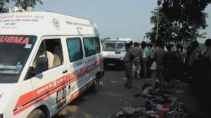 Índia: 24 mortos em cerimónia Hindu