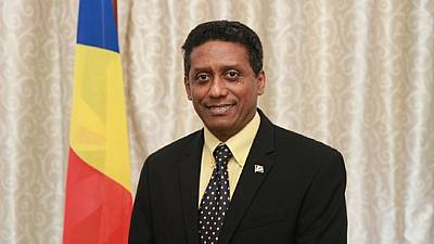 Seychelles swears in new president, opposition demands another election