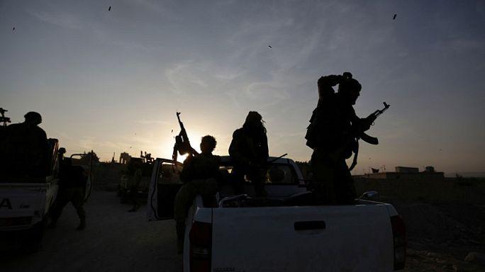 Offensive gegen den IS: Syrische Rebellen erobern Dabik