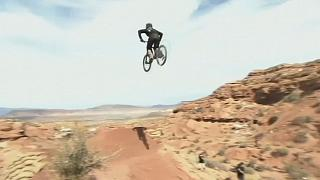 USA: Mountain biking in Utah mountains