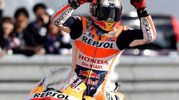 Marquez wins third MotoGP world title as Ogier celebrates fourth straight rally crown