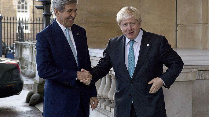 اجتماع لندن حول سوريا يبحث عقوبات ضد دمشق وموسكو