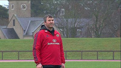 Muere a los 42 años Anthony Foley, entrenador del Munster