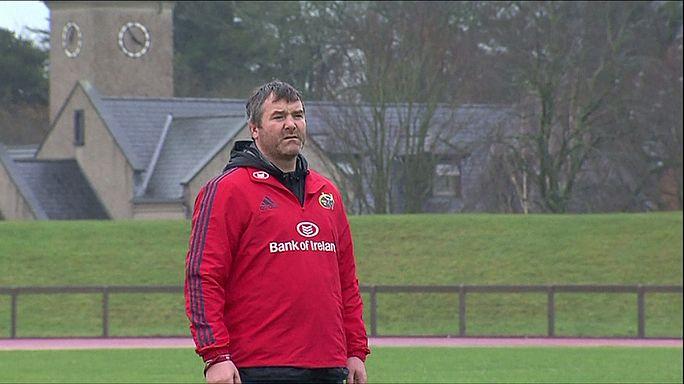 وفاة أنطوني فولي مدرب نادي مونستر الايرلندي للرغبي في باريس عن عمر 42 عاماً