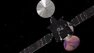 Exomars2016 : Schiaparelli a entamé sa descente vers la planète rouge