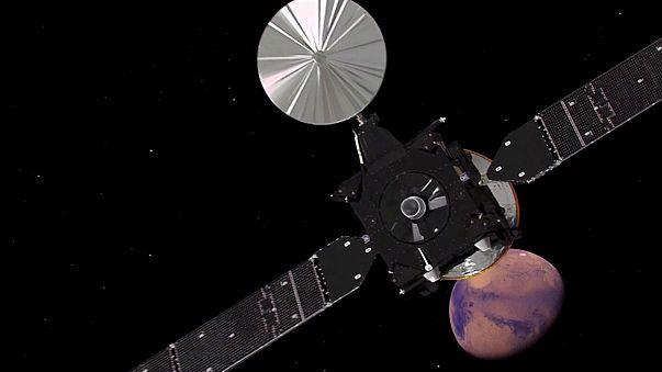 ExoMars uzay araçlarından Schiaparelli Mars yüzeyine inişe geçti