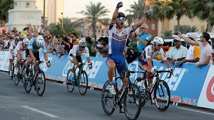 الدوحة: السلوفاكي بيتر ساغان يحافظ على لقبه في بطولة العالم لسباق الدراجات الهوائية