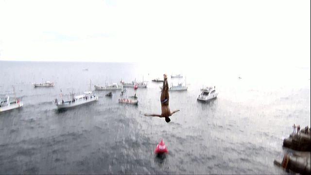 Cliff Diving: sesto titolo per la leggenda Gary Hunt