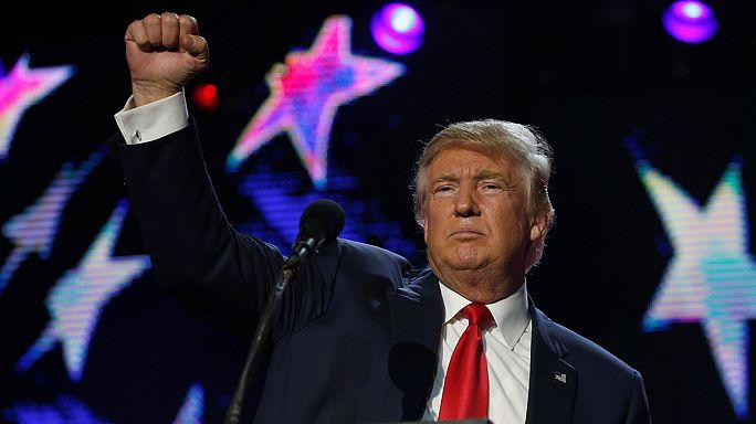 """Трамп назвал поджигателей офиса республиканцев """"животными Клинтон"""""""