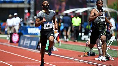 Daughter of US Olympic sprinter Tyson Gay dies after shooting