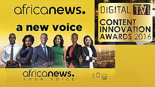 Africanews wins second award less than a year after launch