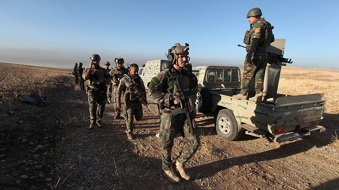 القوات العراقية تبدأ عملية استعادة الموصل