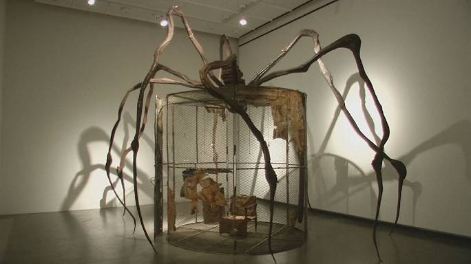 """As células"" de Bourgeois no Museu de Arte Moderna de Louisiana"