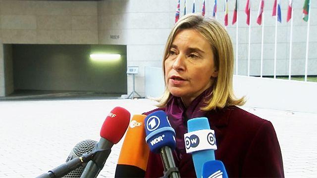 """Vertice europeo sulla Siria. Mogherini: """"Non in agenda altre sanzioni alla Russia"""""""