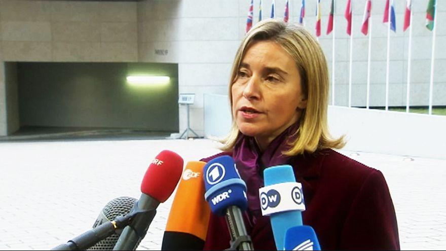 Mogherini descarta nuevas sanciones contra Rusia por su implicación en Siria