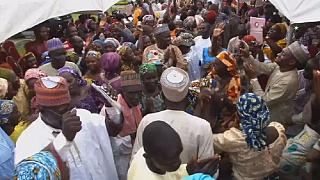 Chibok girls reunite with their families