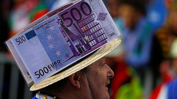 Zona euro: Inflação sobe para máximos de quase dois anos