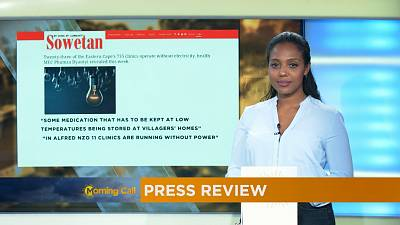 Press Review of October 17, 2016 [The Morning Call]