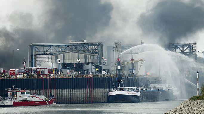 Zwei Tote und noch zwei Vermisste nach Explosion in BASF-Werk am Rhein