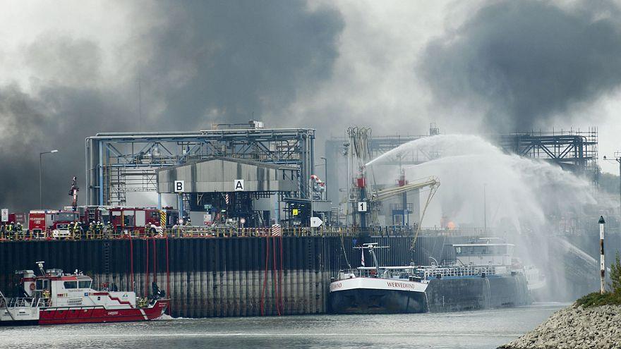 Allemagne : 1 mort, 6 disparus lors d'une explosion dans une usine BASF