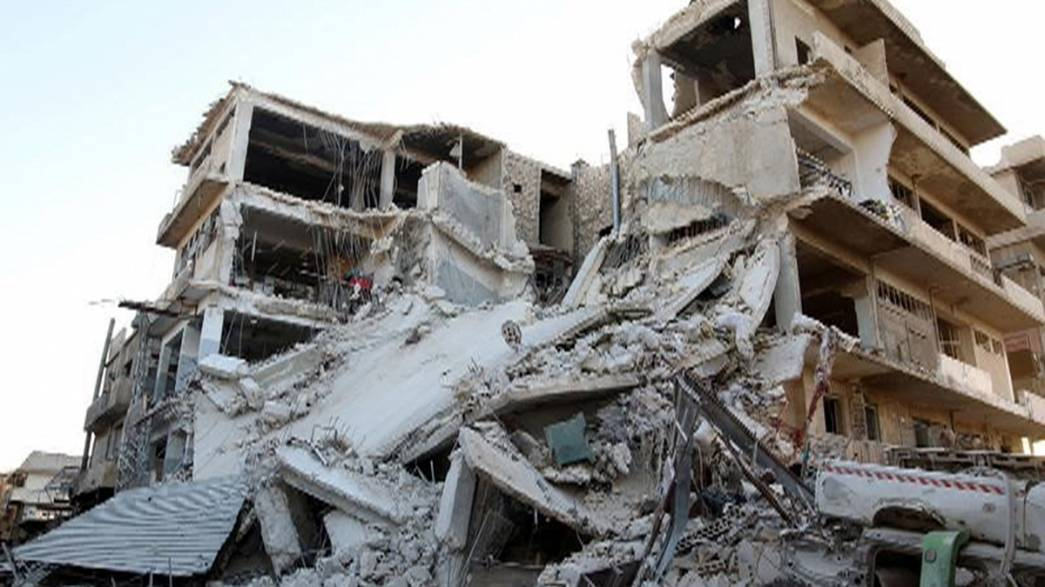 'Family of 14' killed in Russian strike on Aleppo, say White Helmets