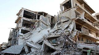 Bombardeamentos sobre Aleppo continuam