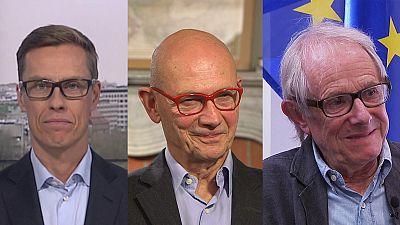 Global Conversation: Especial eleições norte-americanas com Alexander Stubb, Pascal Lamy e Ken Loach