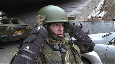 Ukraine rebels mourn Russian commander assassinated in Donetsk