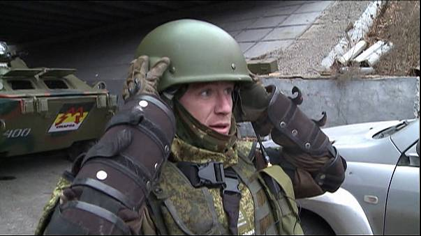 مقتل قائد عسكري روسي شرق اوكرانيا