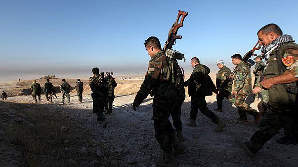 Sturm auf Mossul: Irakische Armee spricht von ersten Erfolgen