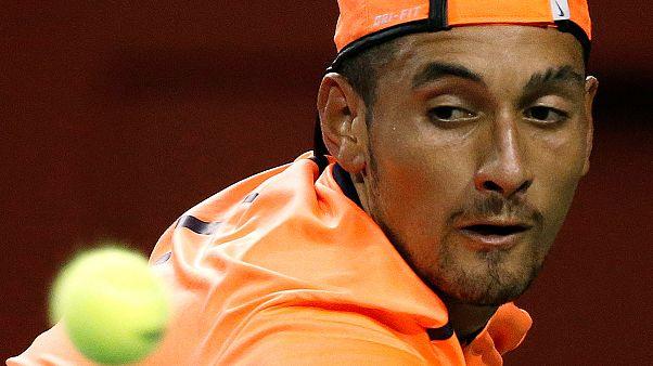 """Nick """"McEnroe"""" Kyrgios pede desculpa mas não evita suspensão e multas. Serena falha finais WTA"""