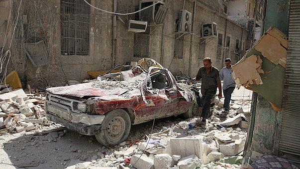 Halep'te 8 saatlik 'insani mola'