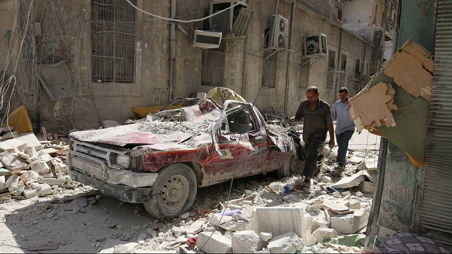 Rusia anuncia una tregua humanitaria de ocho horas en Alepo