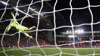 Liverpool dominates but De Gea heroics secure point for Man United