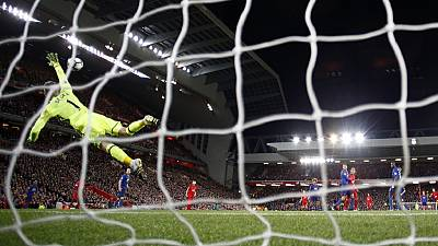 Liverpool dominates but De Gea heroics secure point for Man United