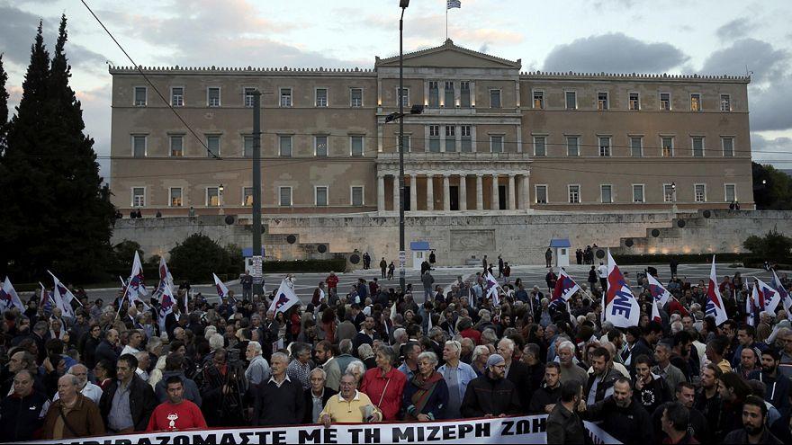Athen: Demonstration gegen Wirtschaftsreformen